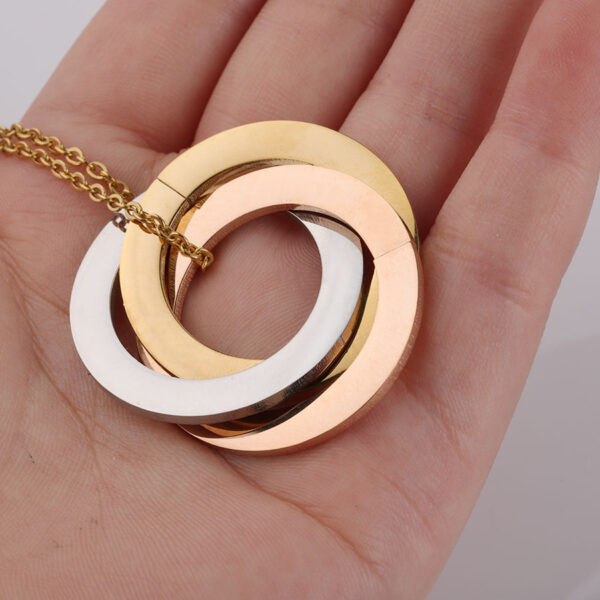 18K-Gold-Three-Circle-Necklace-Chain1