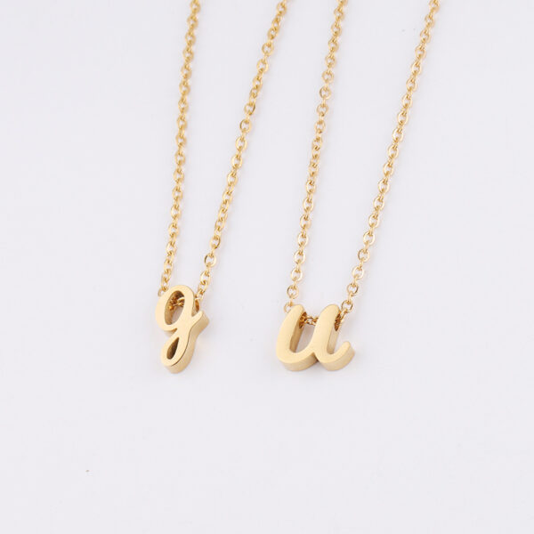 English-Letter-Wear-Bead-Necklace