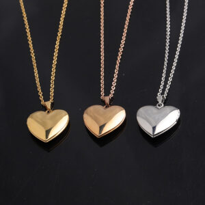 Necklace-Personalized-Heart-Chain-Jewelry