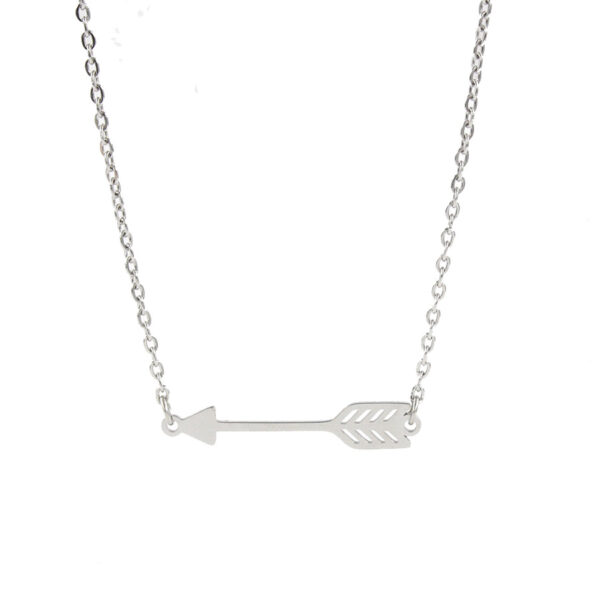 Polished-Stainless-Steel-Link-Chain-Feather-Arrow (2)