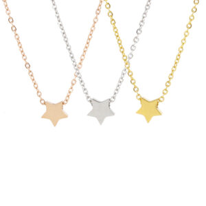 Star-Pendant-Chain-Necklace-Jewelry