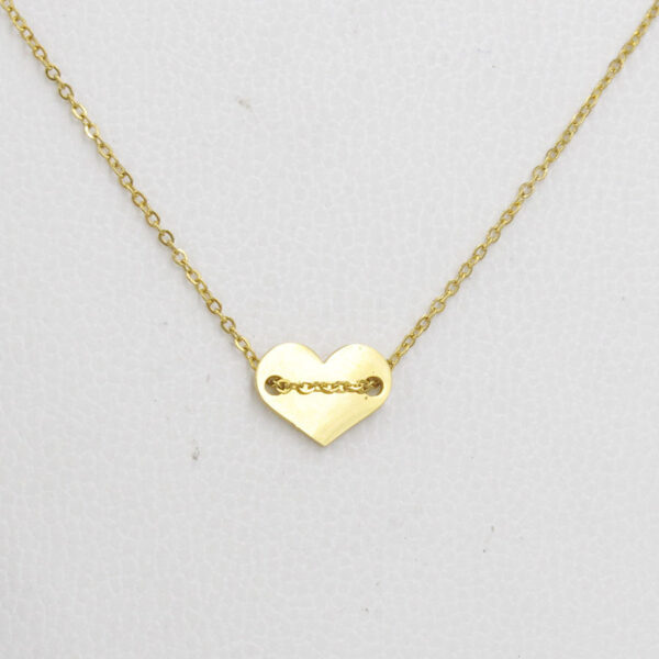 Steel-Lady-Necklace-Heart-Chain-Jewelry1