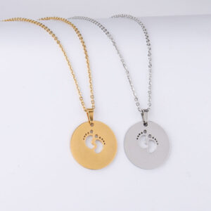 Titanium-Steel-Toe-Necklace-Jewelry